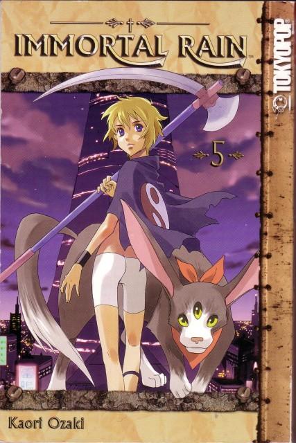 Kaori Ozaki, Immortal Rain, Machika Balfaltin, Manga Cover