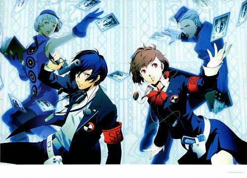 Shigenori Soejima, Soejima Shigenori Artworks 2004-2010, Shin Megami Tensei: Persona 3, Female Protagonist (Persona 3), Minato Arisato