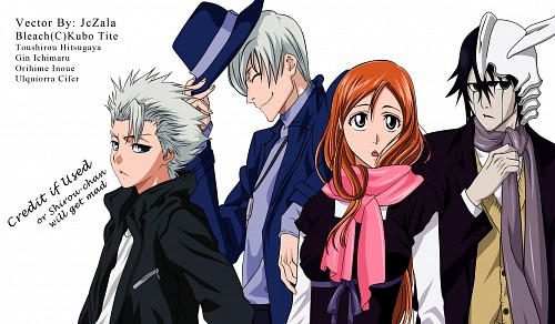 Kubo Tite, Studio Pierrot, Bleach, Toshiro Hitsugaya, Gin Ichimaru