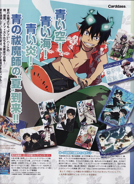 Hitomi Odashima, A-1 Pictures, Ao no Exorcist, Rin Okumura, Animage