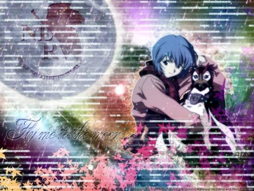 Yoshiyuki Sadamoto, Neon Genesis Evangelion, Pen Pen, Rei Ayanami Wallpaper