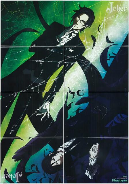A-1 Pictures, Kuroshitsuji, Claude Faustus, Sebastian Michaelis