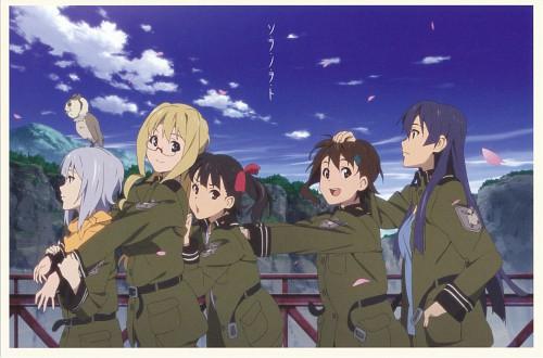 A-1 Pictures, Sora no Woto, Filicia Heideman, Rio Kazumiya, Kanata Sorami