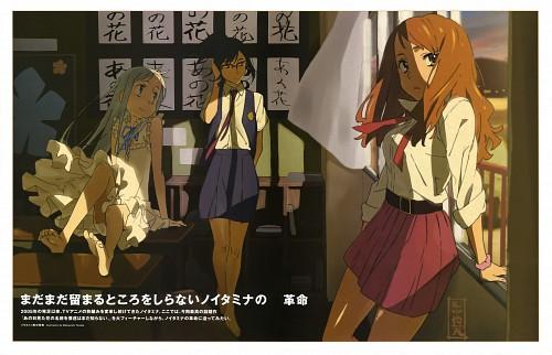 Masayoshi Tanaka, A-1 Pictures, AnoHana, Naruko Anjou, Meiko Honma