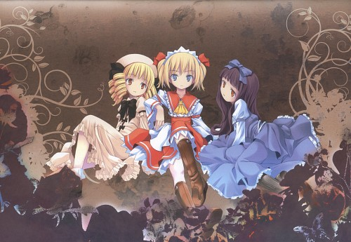 POP, Caramel Frolic, Touhou, Luna Child, Sunny Milk