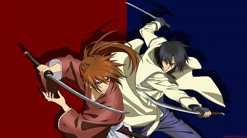Rurouni Kenshin, Aoshi Shinomori, Kenshin Himura Wallpaper