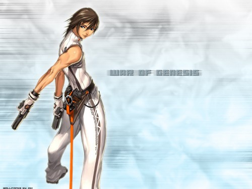 Hyung-Tae Kim, War of Genesis III, Christian de Medich Wallpaper