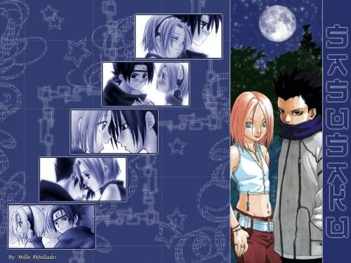 Masashi Kishimoto, Studio Pierrot, Naruto, Sasuke Uchiha, Sakura Haruno Wallpaper