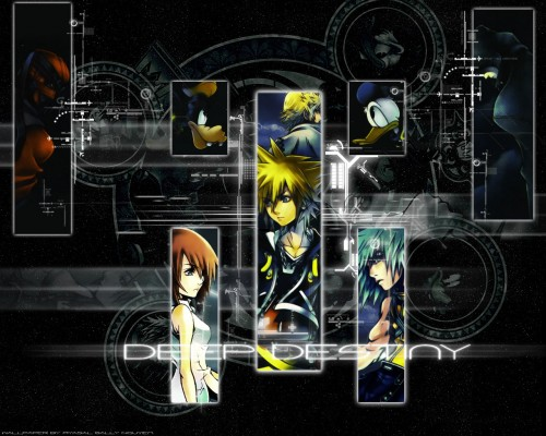 Square Enix, Kingdom Hearts, Kairi, Goofy, Sora Wallpaper