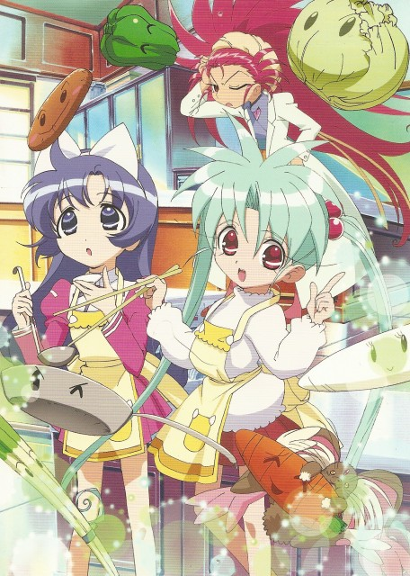 Sasami Magical Girls Club, Tenchi Muyo, Misao Shinohara, Sasami Masaki Jurai, Ryo-ohki