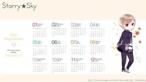 Starry Sky, Shiki Kagurazaka, Calendar