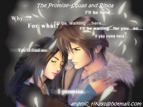 Square Enix, Final Fantasy VIII, Squall Leonhart, Rinoa Heartilly Wallpaper