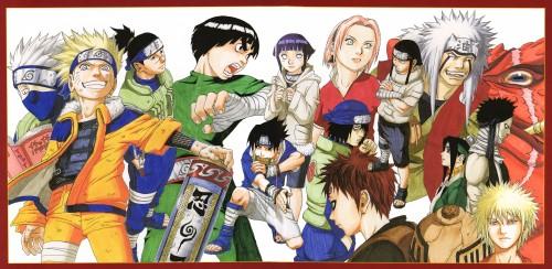 Masashi Kishimoto, Naruto, Uzumaki (Artbook), Gamabunta, Iruka Umino