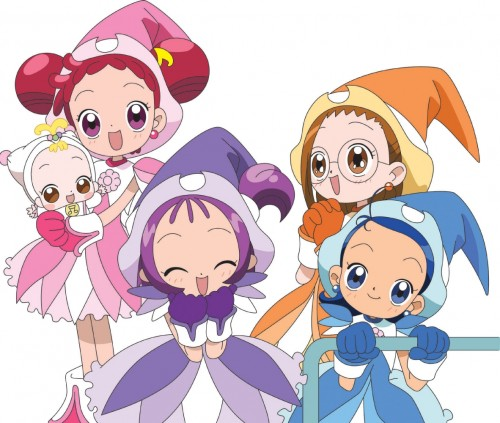 Toei Animation, Ojamajo DoReMi, Hana Makihatayama, Onpu Segawa, Aiko Senoo