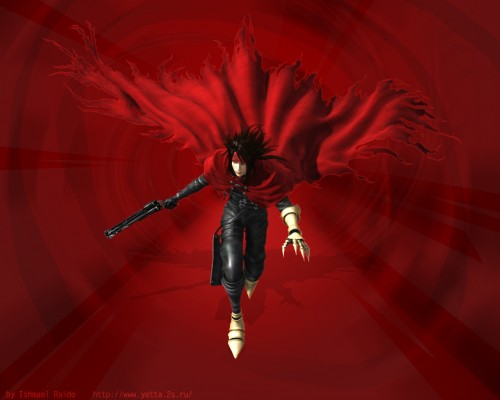 Square Enix, Final Fantasy VII: Dirge of Cerberus, Vincent Valentine Wallpaper
