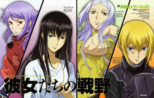 Michinori Chiba, Mobile Suit Gundam 00, Soma Peries, Louise Halevy, Marina Ismail