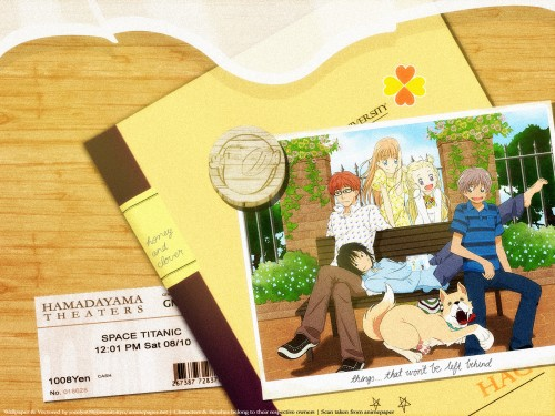 Chika Umino, J.C. Staff, Honey and Clover, Ayumi Yamada, Yuuta Takemoto Wallpaper