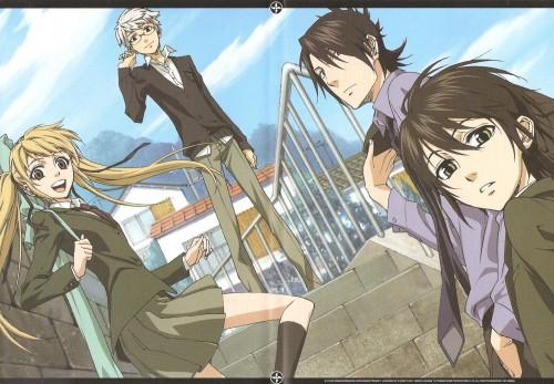 Yuuki Kamatani, J.C. Staff, Nabari no Ou, Miharu Rokujou, Tobari Durandal Kumohira
