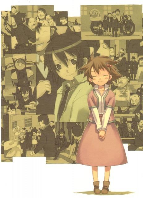 Kouhaku Kuroboshi, Kino no Tabi, Hermes, Kino, Sakura (Kino No Tabi)