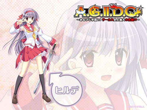 Akisoba, A.G.II.D.C, Hilde (RPG Gakuen), Official Wallpaper