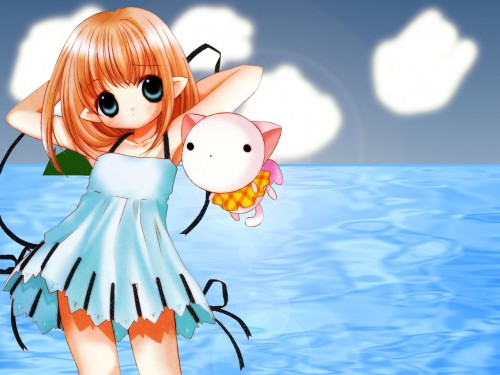 Yuiko Tokumi, Xebec, Bottle Fairy, Oboro (Bottle Fairy), Kururu Wallpaper