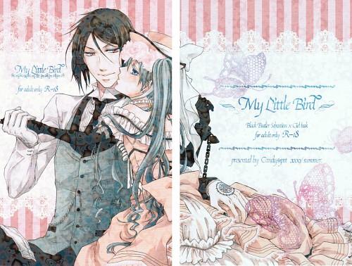 Kuroshitsuji, Ciel Phantomhive, Sebastian Michaelis, Doujinshi Cover, Doujinshi