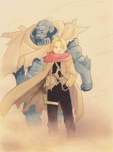 Hiromu Arakawa, BONES, Fullmetal Alchemist, Fullmetal Alchemist Artbook Vol. 2, Alphonse Elric