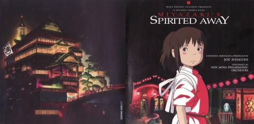 Studio Ghibli, Spirited Away, Kaonashi, Chihiro Ogino, Album Cover