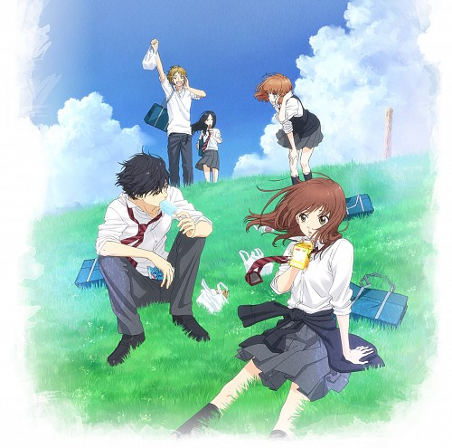 Io Sakisaka, Production I.G, Ao Haru Ride, Shuuko Murao, Yuuri Makita