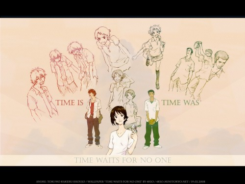 Madhouse, The Girl Who Leapt Through Time, Chiaki Mamiya, Makoto Konno, Kousuke Tsuda Wallpaper