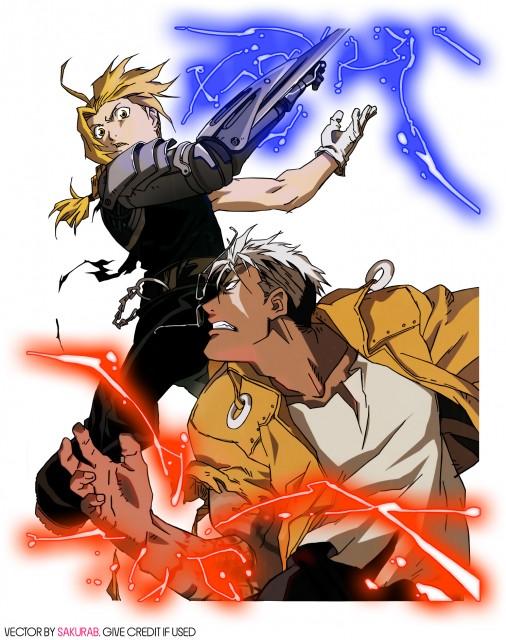 Hiromu Arakawa, BONES, Fullmetal Alchemist, Edward Elric, Scar (FMA)