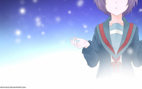 Noizi Ito, Kyoto Animation, The Melancholy of Suzumiya Haruhi, Yuki Nagato Wallpaper