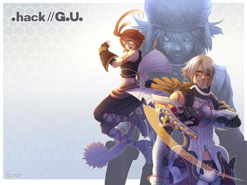 Yoshiyuki Sadamoto, .hack//G.U., Azure Kite, Haseo, Alkaid