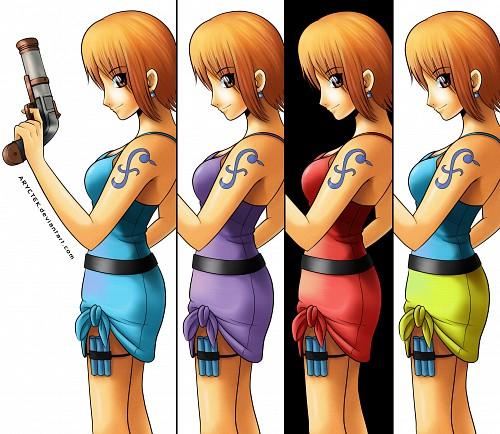 One Piece, Nami, Member Art