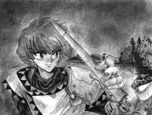 CLAMP, Magic Knight Rayearth, Ferio, Member Art