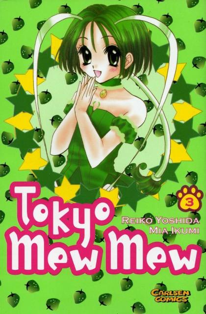 Mia Ikumi, Tokyo Mew Mew, Lettuce Midorikawa, Manga Cover