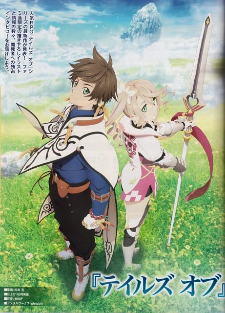 Kousuke Fujishima, Namco, Tales of Zestiria, Alisha Diefda, Sorey