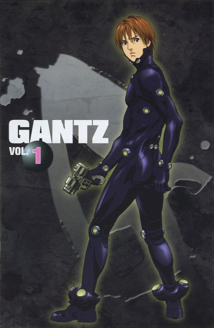 Hiroya Oku, Gonzo, Gantz, Kei Kurono, DVD Cover