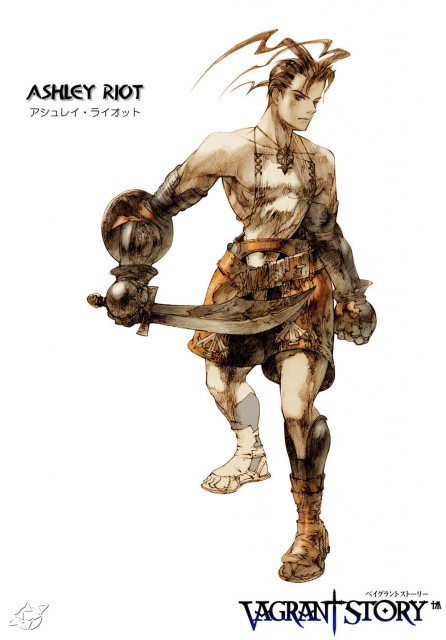 Akihiko Yoshida, Square Enix, Vagrant Story, Ashley Riot