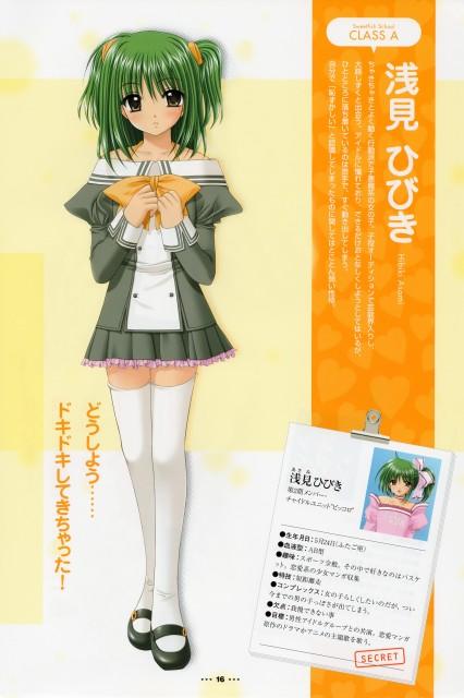 Lovely Idol, Hibiki Asami, Character Sheet