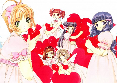 CLAMP, Cardcaptor Sakura, Cardcaptor Sakura Illustrations Collection 3, Tomoyo Daidouji, Rika Sasaki