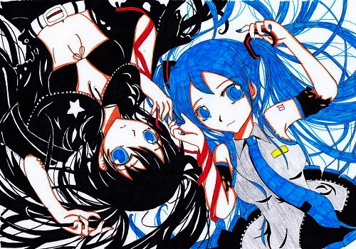 Black Rock Shooter, Vocaloid, Miku Hatsune, Black Rock Shooter (Character), Member Art