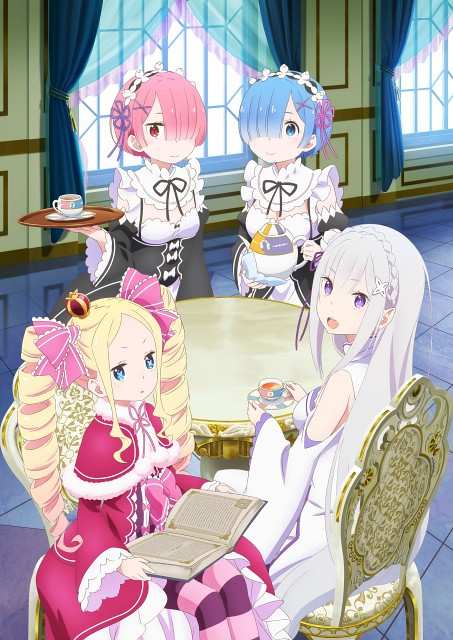 White Fox, Re:Zero, Emilia (Re:Zero), Ram (Re:Zero), Rem (Re:Zero)