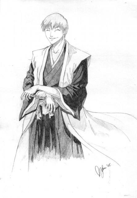 Kubo Tite, Studio Pierrot, Bleach, Gin Ichimaru, Member Art