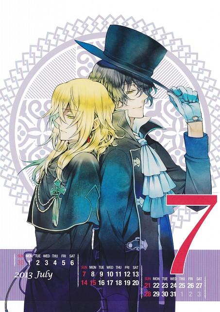 Jun Mochizuki, Xebec, Pandora Hearts, Pandora Hearts Comic Special Calendar 2013, Vincent Nightray