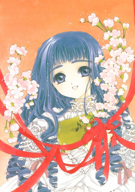 CLAMP, Madhouse, Cardcaptor Sakura, Cardcaptor Sakura Illustrations Collection 1, Tomoyo Daidouji