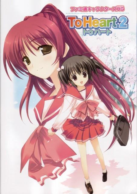 AQUAPLUS, To Heart 2 - Character Heroine, To Heart 2, Konomi Yuzuhara, Tamaki Kousaka