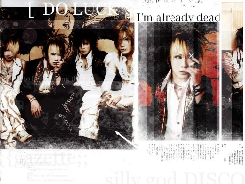 Gazette, Reita, Ruki, Kai, Uruha Wallpaper