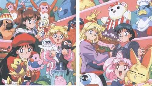 Toei Animation, Bishoujo Senshi Sailor Moon, Rei Hino, Minako Aino, Chibi Usa