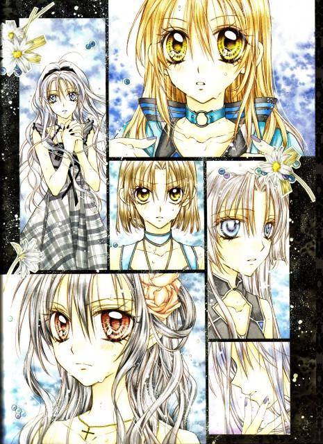 Arina Tanemura, Shinshi Doumei Cross, Haine Otomiya, Maika Kamiya, Komaki Kamiya